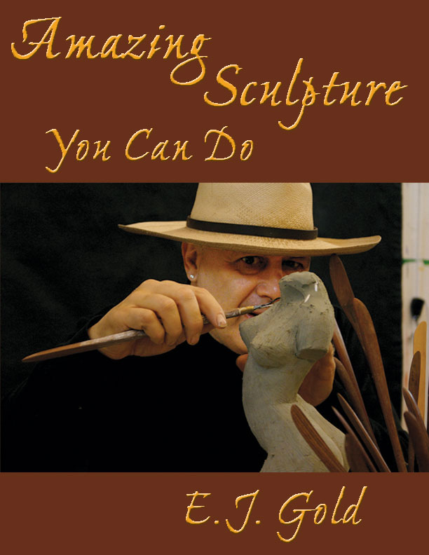 Photo of book cover of Amazing Sculpture You Can Do by E.J. Gold