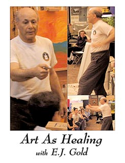 photo of DVD cover of Art as Healing
