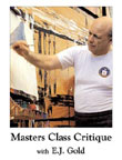 Photo of DVD cover of Masters Class Critique by E.J. Gold
