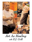 Photo of DVD cover of Art as Healing by E.J. Gold