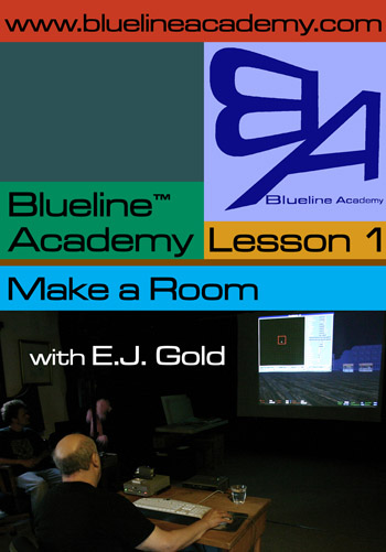 photo of cover of DVD Blue Line Academy Lesson One, Make a Room, by E.J. Gold