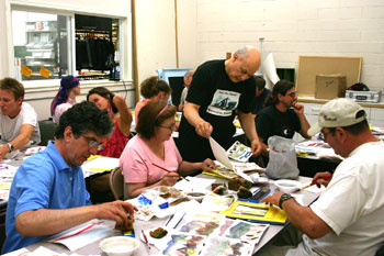 E.J. Gold offers Watercolor, Charcoal, Drawing & Acrylic Painting Classes