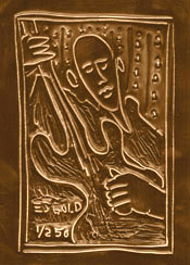 fine art chocolate bar by  E.J. Gold