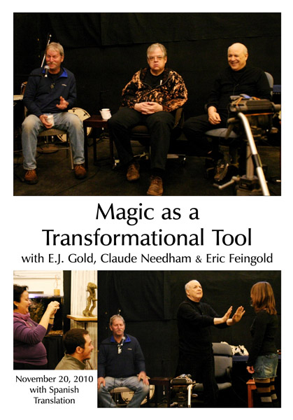 DVD cover for Magic as a Transformational Tool by E.J. Gold