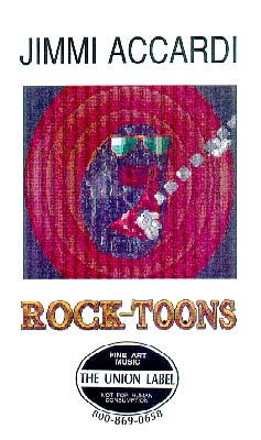 photo of DVD cover of Rock-Toons