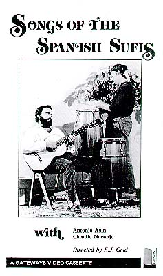 photo of DVD cover of Songs of the Spanish Sufis